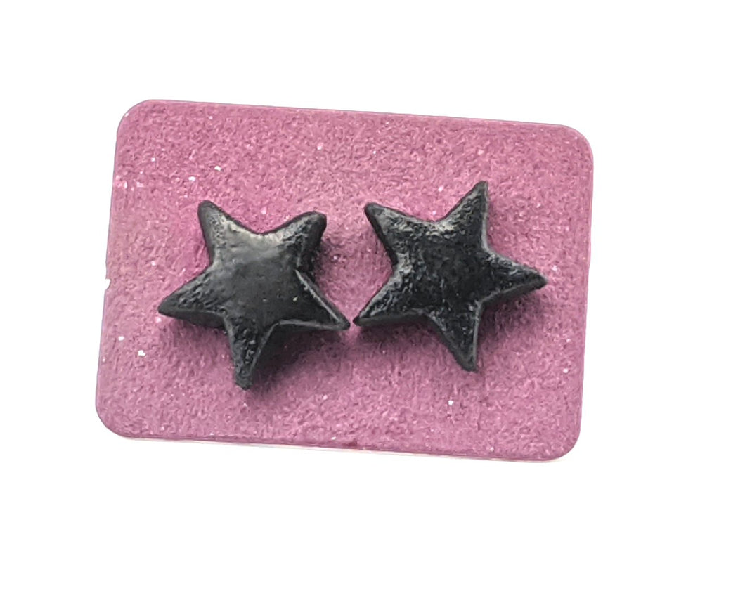 Happy unicorn monster stud earrings