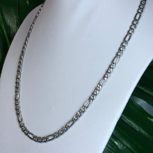Load image into Gallery viewer, STAINLESS STEEL FIGARO NECKLACE