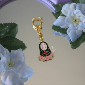 SPIRITED AWAY 'NO FACE' KEYCHAIN