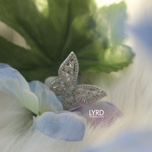 Load image into Gallery viewer, ADJUSTABLE SILVER CLASSIC BUTTERFLY RING