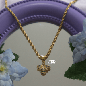 ROYALTY BEE NECKLACE