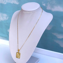 Load image into Gallery viewer, INITIAL PENDANT NECKLACE