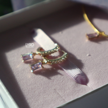 Load image into Gallery viewer, ALEXANDRITE GOLD NECKLACE SET (LIMITED EDITION)