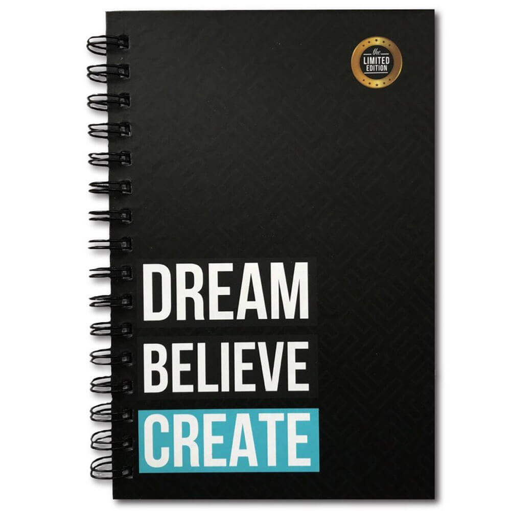Dream Believe Create Daily Planner