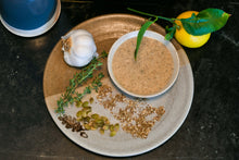 Load image into Gallery viewer, Organic Herby Za'atar Sesame Butter