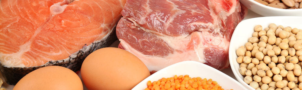 High Protein Foods: Salmon, Steak, Eggs, and Legumes