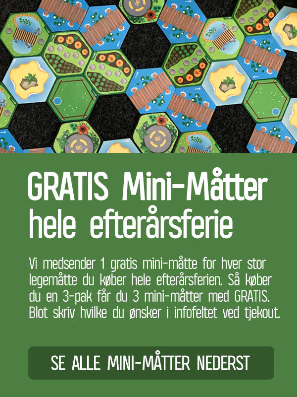 GRATIS mini legemåtte