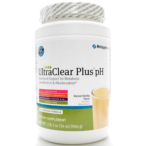 Metagenics - UltraClear Plus pH Vanilla Flavor 34.1oz|||||