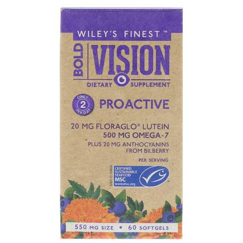 Wiley's Bold Vision Proactive 60 Softgels-Wiley's-Ur Vitamins