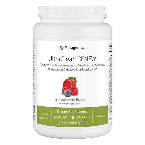 Metagenics - UltraClear RENEW Berry 21 servings||Natural Factors - C 500mg Jungle Juice 90 Tabs|