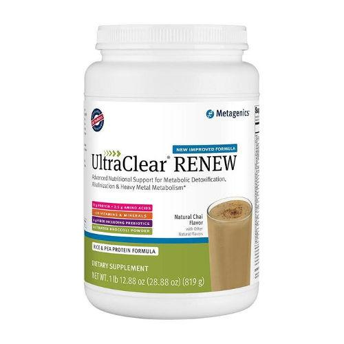 Metagenics - UltraClear RENEW Chai 21 servings||Natural Factors - C Peach/Passionfruit/Mango 90 Tabs|