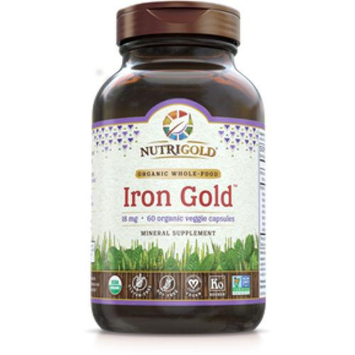 NutriGold - Iron Gold 18 mg 60 VCaps|