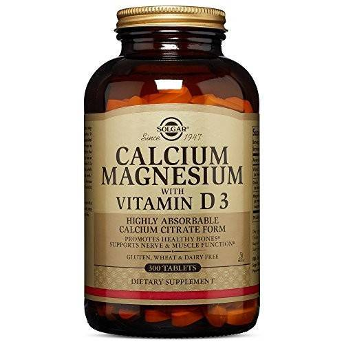 Solgar - Calcium Magnesium with Vitamin D3 300 Tablets|Solgar - Calcium Magnesium with Vitamin D3 300 Tablets