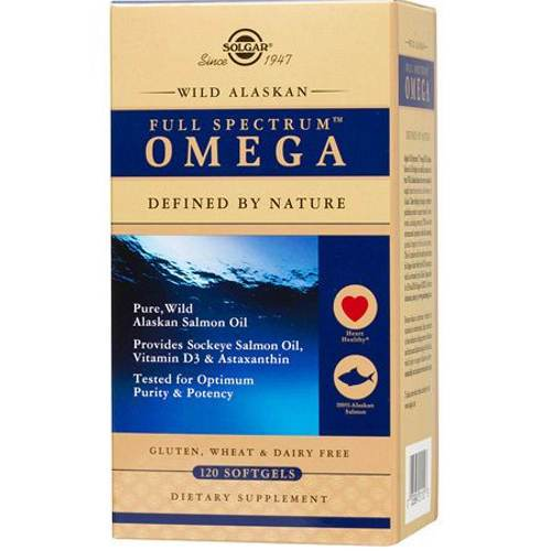 Solgar - Wild Alaskan Full Spectrum Omega 120 Softgels