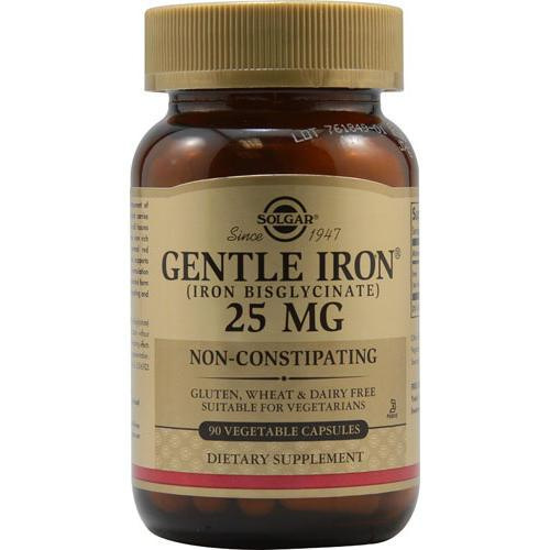 Solgar - Gentle Iron 90 Vegetable Capsules