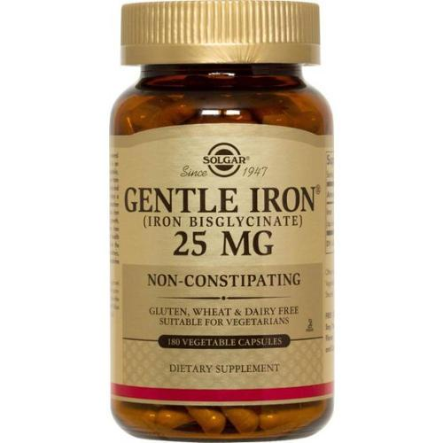 Solgar - Gentle Iron 180 Vegetable Capsules