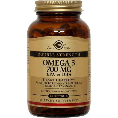 Solgar - Double Strength Omega-3 700 mg 60 Softgels