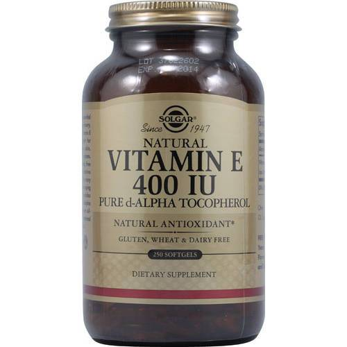 Solgar - Vitamin E 400 IU Alpha 250 Softgels