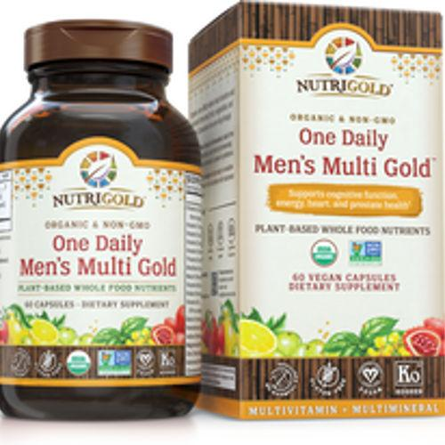 NutriGold - One Daily Men's Multi Gold 60 VCaps|