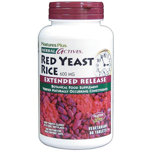 Extended Release Red Yeast Rice 600Mg 60 Tabs-Nature's Plus-Ur Vitamins