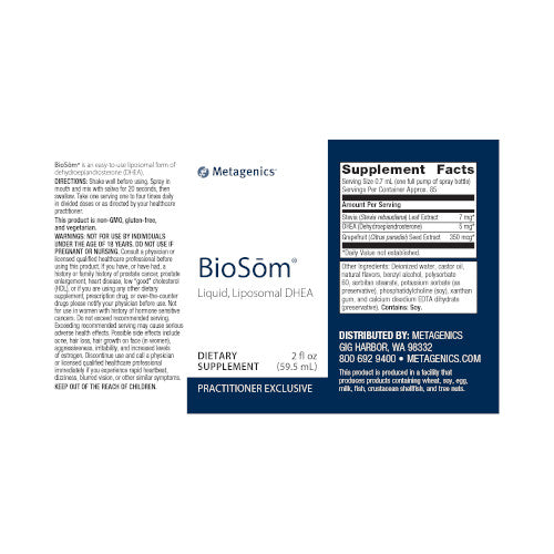 Metagenics BioSome 2 fl Oz