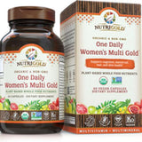 NutriGold - One Daily Women's Multi Gold 60 VCaps|