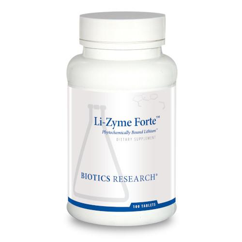 Biotics Research Li-Zyme Forte 100 Tabs