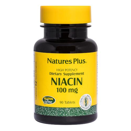 Nature's Plus Niacin 100 Mg 90 Tablets-Nature's Plus-Ur Vitamins