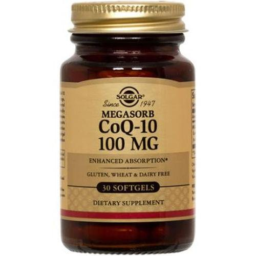 Solgar - Megasorb CoQ-10 100 mg 30 Softgels