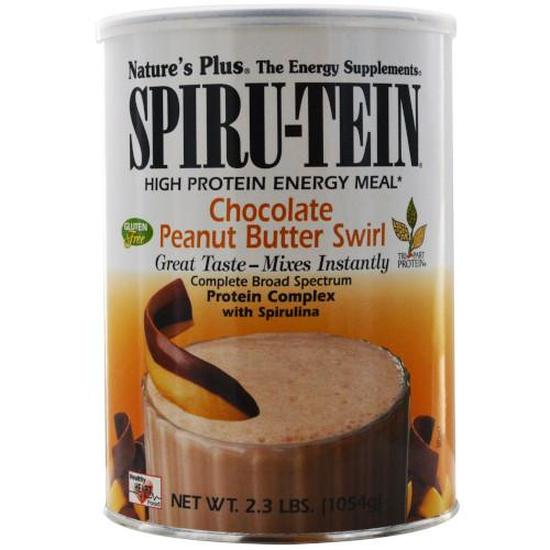 Spirutein Chocolate Peanut Butter Swirl 2.3 Lb-Nature's Plus-Ur Vitamins