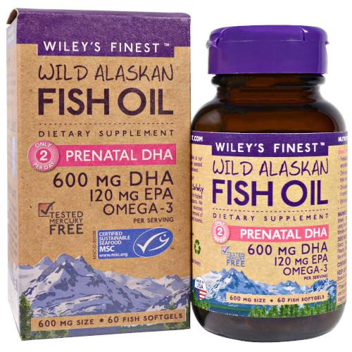 Wiley's Prenatal DHA 60 Softgels-Wiley's-Ur Vitamins