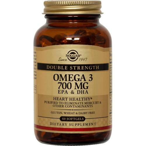 Solgar - Double Strength Omega-3 700 mg 30 Softgels
