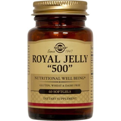 Solgar - Royal Jelly 500 60 Softgels