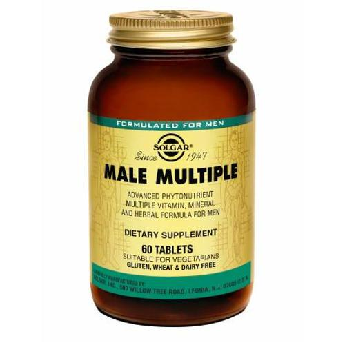 Solgar - Male Multiple 60 Tablets