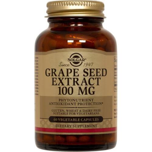 Solgar - Grape Seed Extract 100 mg 60 VCaps
