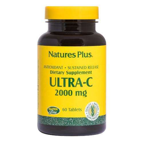 Nature's Plus Ultra C 2000 Mg 60 Tablets-Nature's Plus-Ur Vitamins