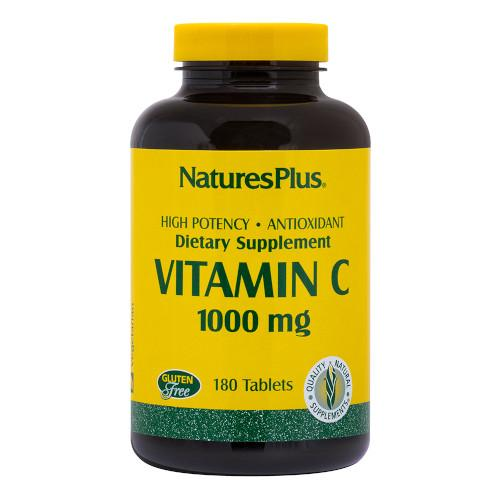 Nature's Plus Vitamin C 1000 Mg 180 Tablet-Nature's Plus-Ur Vitamins