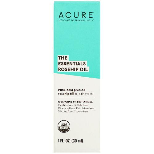 Acure The Essentials Rosehip Oil 1 fl oz