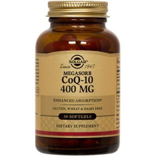 Solgar - Megasorb CoQ-10 400 mg 30 Softgels