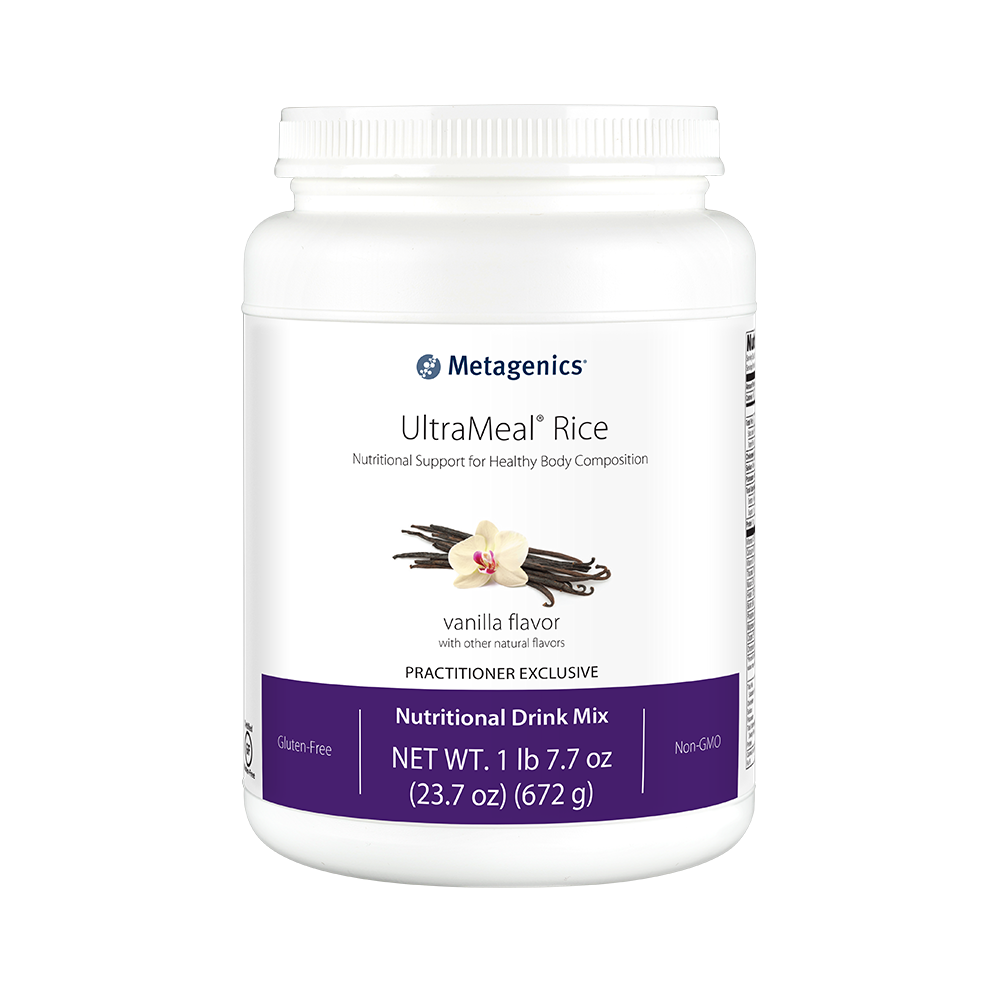 Metagenics UltraMeal RICE Vanilla 23.7 oz