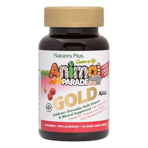 Animal Parade Gold Cherry 60 Chewables-Nature's Plus-Ur Vitamins