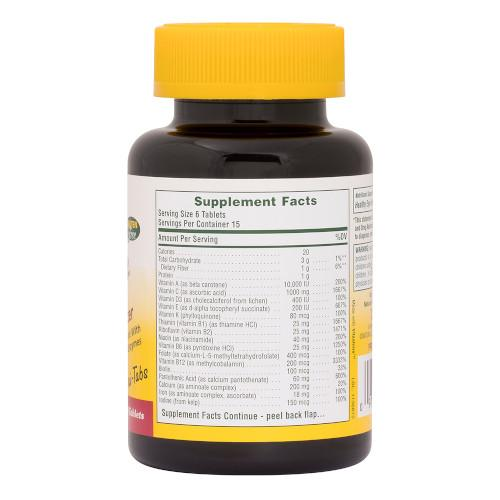 Ultra Source Of Life With Lutein Mini Tabs 180-Nature's Plus-Ur Vitamins