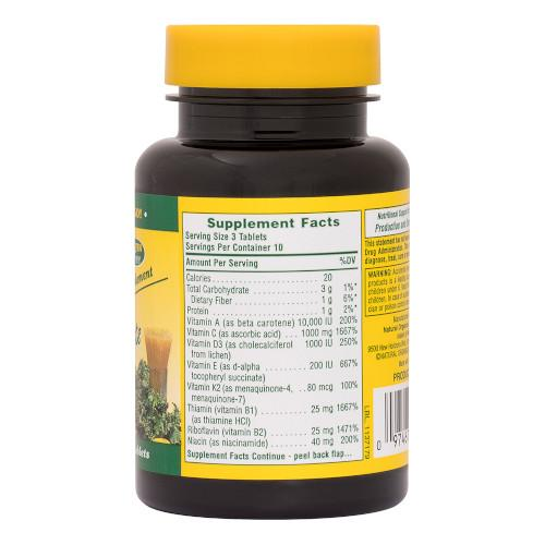 Nature's Plus Source Of Life Tablets 180-Nature's Plus-Ur Vitamins