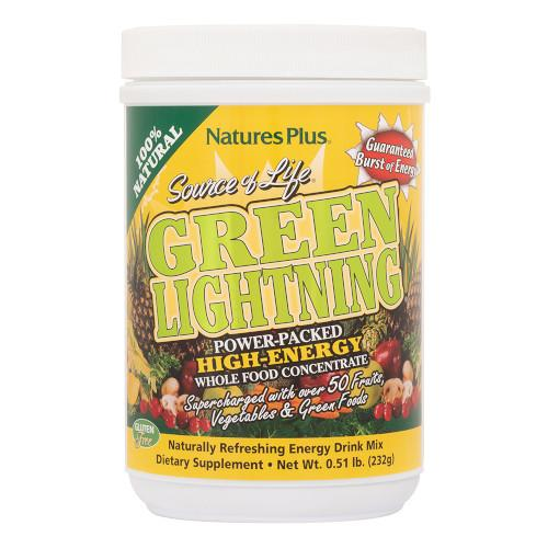 Source Of Life Green Lightning .5 Lb-Nature's Plus-Ur Vitamins