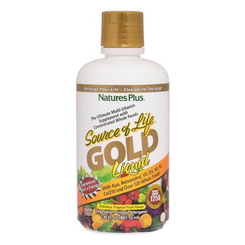 Source Of Life Gold Liquid 30 Oz-Nature's Plus-Ur Vitamins