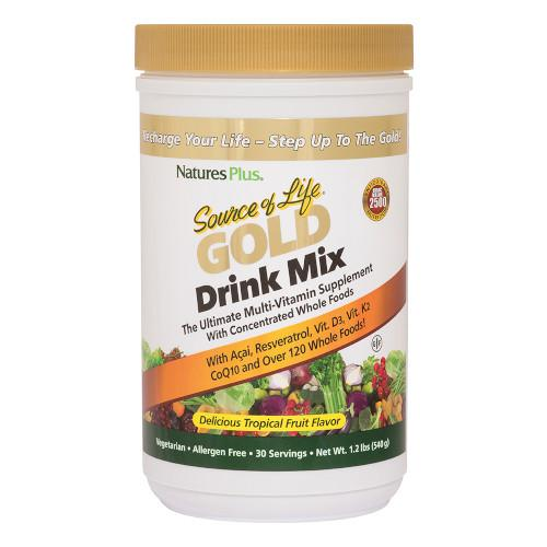 Source of Life Gold Drink Mix 1.2lbs-Nature's Plus-Ur Vitamins