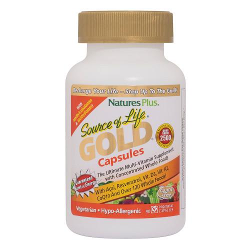 Source Of Life Gold Vcaps 90-Nature's Plus-Ur Vitamins