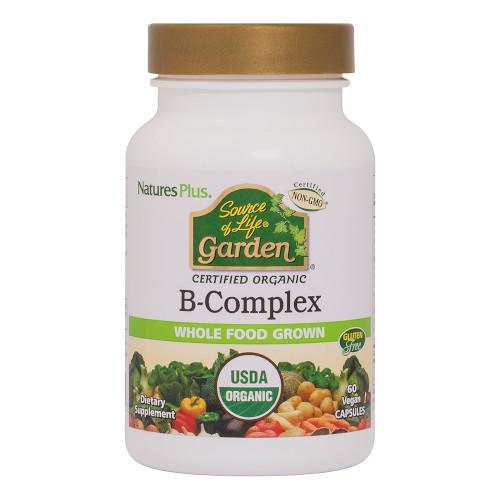 Source of Life Garden B Complex 60 VCaps-Nature's Plus-Ur Vitamins