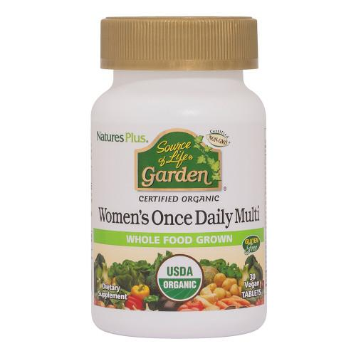 Source Of Life Garden Organic Womens Daily 30 Tab-Nature's Plus-Ur Vitamins