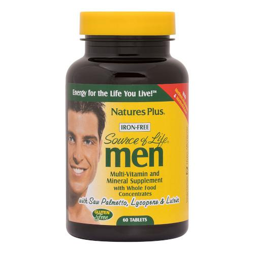 Source Of Life Men's Multi Vitamin 60-Nature's Plus-Ur Vitamins
